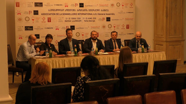 თბილისში საერთაშორისო სომელიეთა ასოციაციის გენერალური ასამბლეა ოფიციალურად გაიხსნა